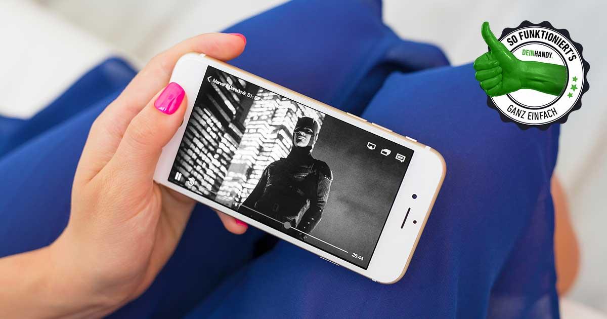 iPhone Schwarz-Weiß-Modus aktivieren