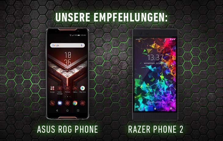 Asus und Razer Fortnite Handys