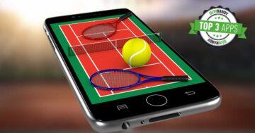 Tennis-App: Die 3 besten kostenlosen Livescore Tennis-Apps