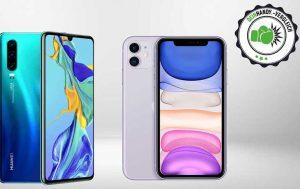 iPhone 11 vs. Huawei P30: