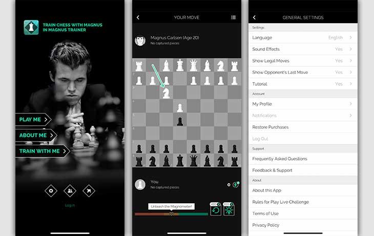 Play Magnus – Spiele Schach