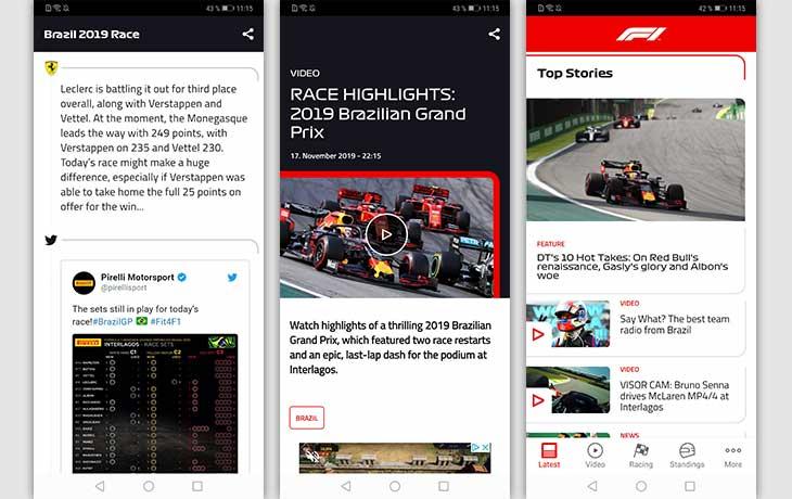 Official F1 Screenshots