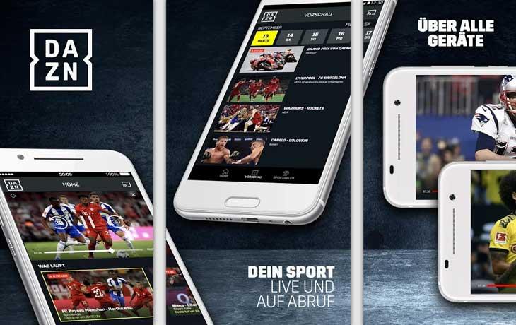 DAZN Screenshots