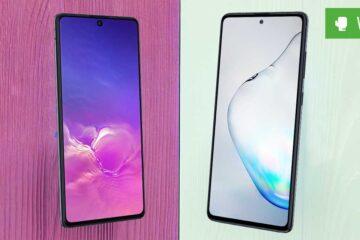 Galaxy S10 Lite vs. Galaxy Note 10 Lite