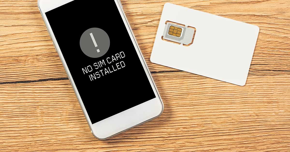 Header SIM Card