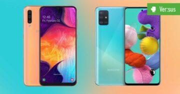 Galaxy A50 vs. Galaxy A51 – Samsungs neue Mittelklasse im Vergleich