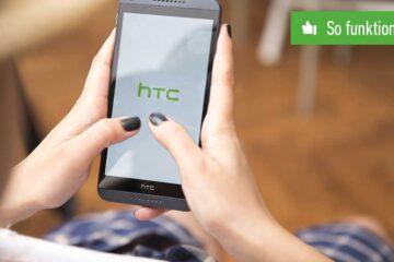 Screenshot mit HTC Handy machen