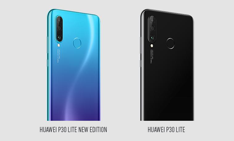 Huawei P30 Lite New Edition und Huawei P30 Lite Kameras