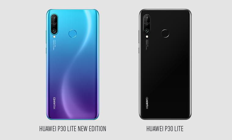 Huawei P30 Lite New Edition und Huawei P30 Lite Rückseite