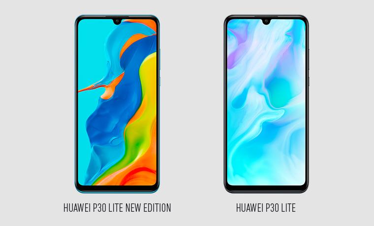 Huawei P30 Lite New Edition und Huawei P30 Lite Vorderseite