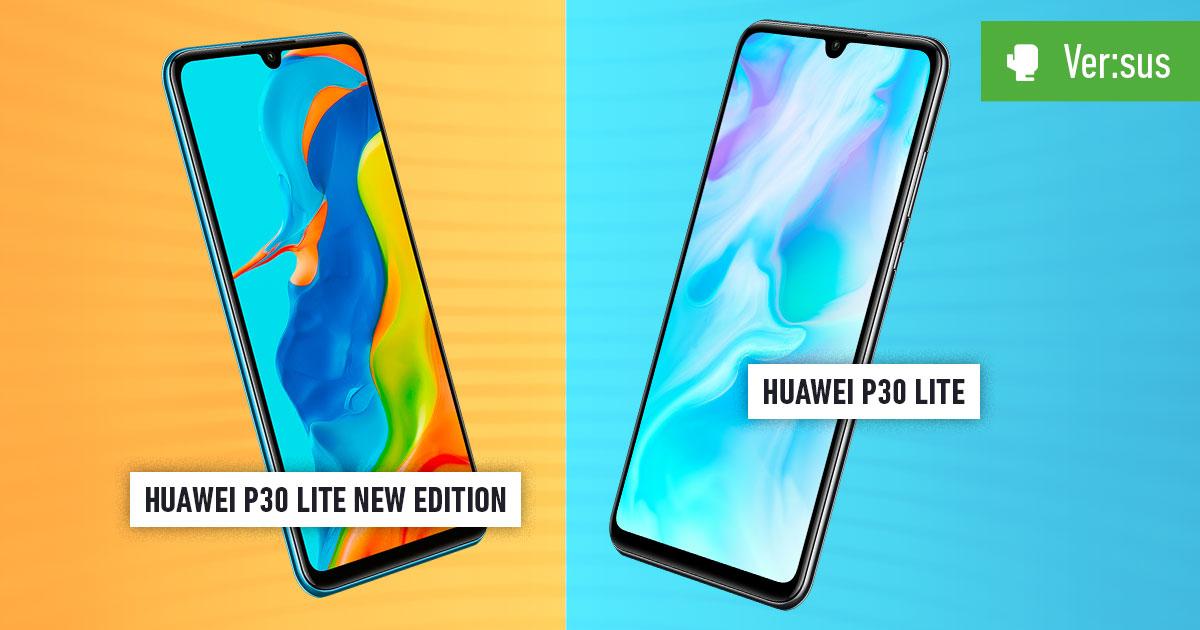 Huawei P30 Lite New Edition vs Huawei P30 Lite