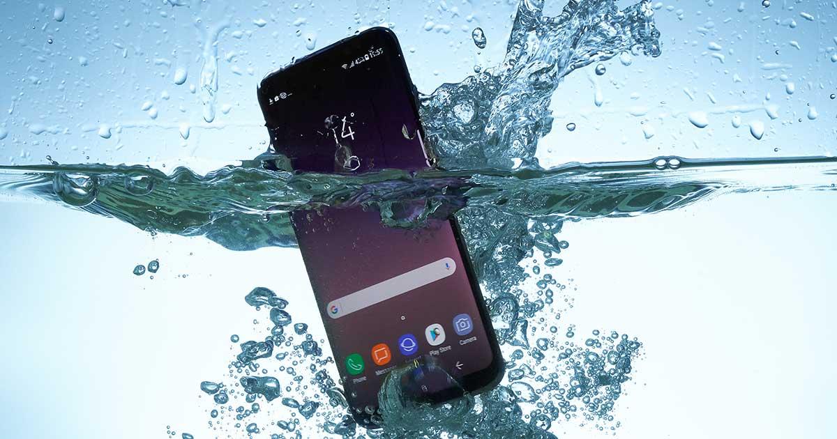 IP-Schutzklassen - wasserdichte Handys