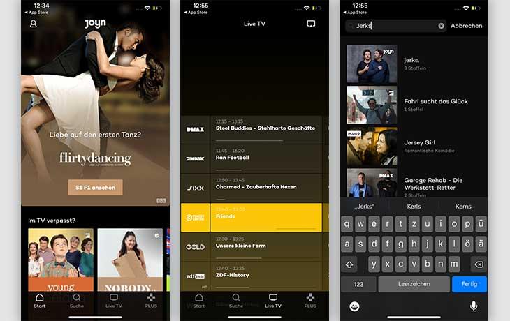 TV-Apps: Joyn