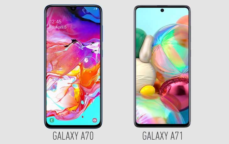 galaxy-a71-a70-display