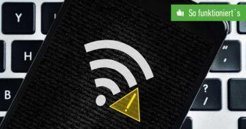 """""""Internet eventuell nicht verfügbar"""" beim Samsung-Handy: Was tun?"""