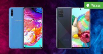 Galaxy A70 vs. Galaxy A71: Samsungs gehobene Mittelklasse im Vergleich