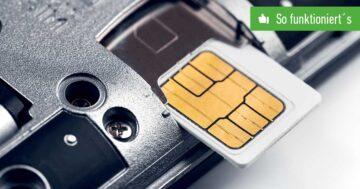 SIM-Karte nicht eingerichtet? So funktioniert's wieder