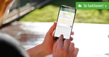 WhatsApp: Profilbild und Gruppenbild speichern – So funktioniert's