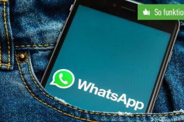 WhatsApp Umfrage erstellen
