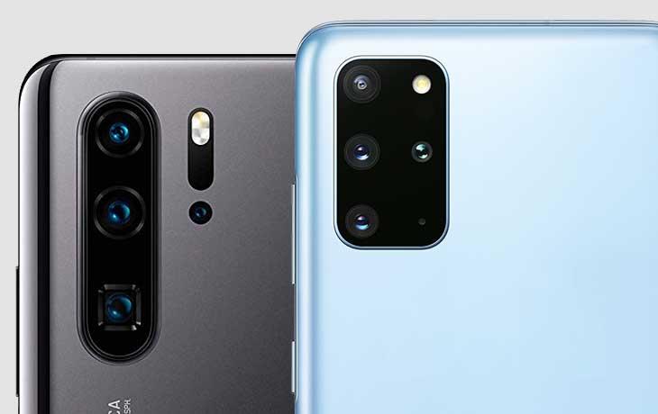Galaxy S20 Plus und Huawei P30 Pro Kameras im Vergleich