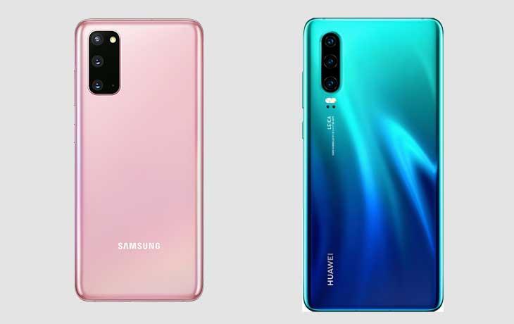 Galaxy S20 vs. Huawei P30_Leistung