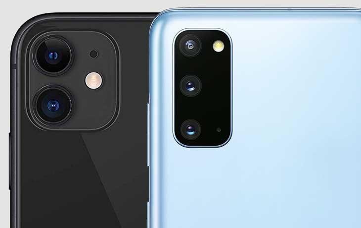 iPhone 11 vs. Galaxy S20: Kamera