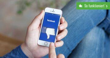 Facebook Account löschen – So funktioniert's