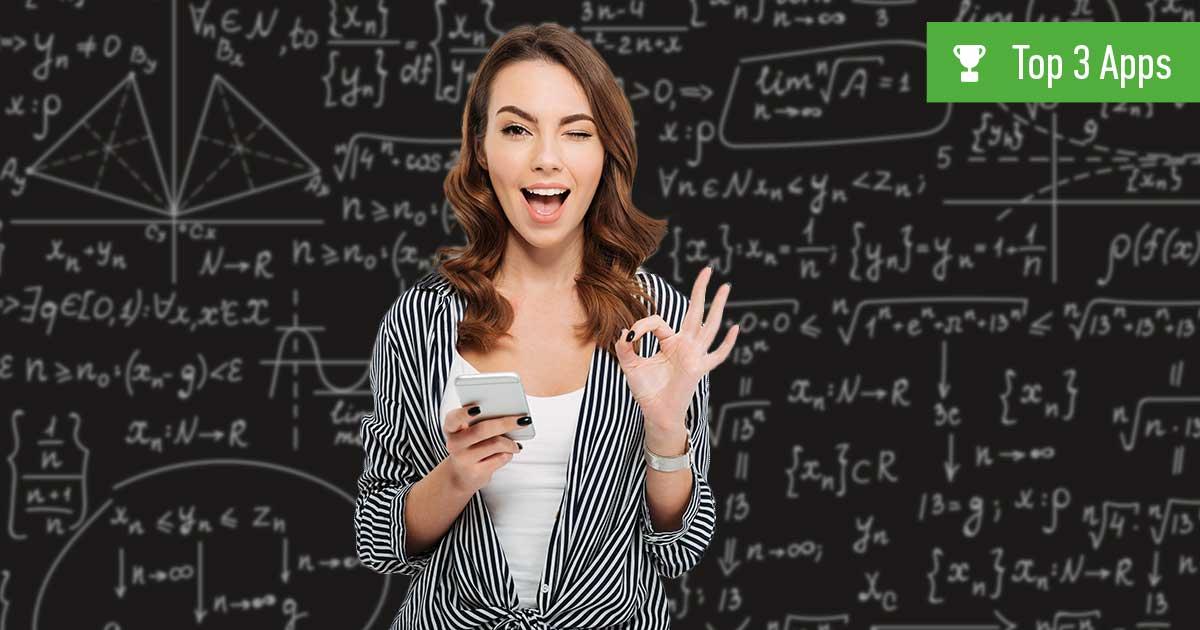 Mathe-App: 3 beste kostenlose Apps für Geometrie, Algebra und Co.