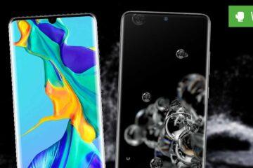 Galaxy S20 Ultra vs. Huawei P30 Pro – Godzilla gegen Mothra