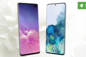 Galaxy S20 Plus vs. Galaxy S10 Plus – Plus-Varianten im Vergleich