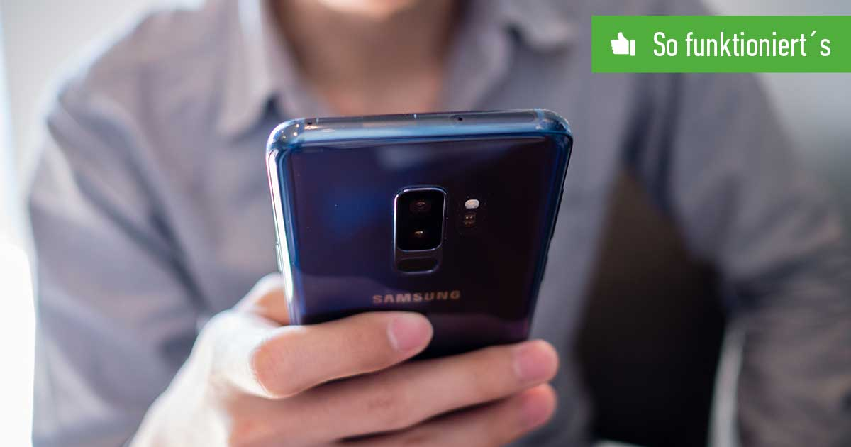 Header Samsung Konto