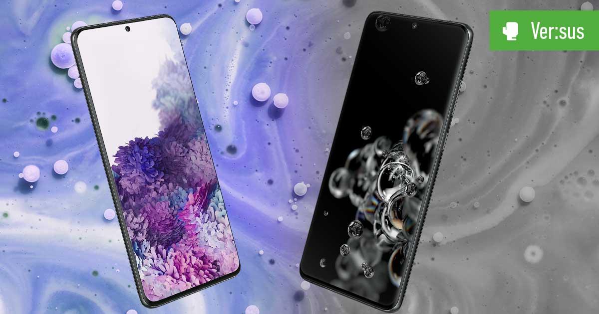 Galaxy S20 Ultra 5G vs. Galaxy S20+ – Die Samsung-Riesen