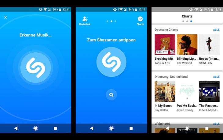 Musik Apps Shazam