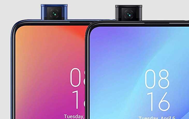 Xiaomi Mi 9T Pro und Xiaomi Mi 9T Frontkameras