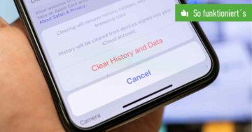Verlauf löschen: Anleitung für Browser auf dem Android-Handy & iPhone