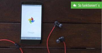 Google Fotos deaktivieren – So funktioniert's