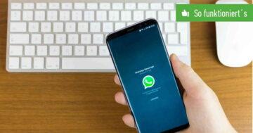 WhatsApp: Bilder und Videos auf PC übertragen – So funktioniert's