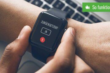 Apple Watch zurücksetzen