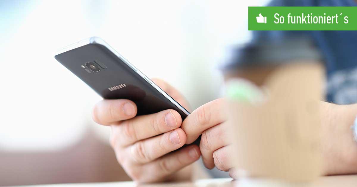 Header Samsung Konto löschen
