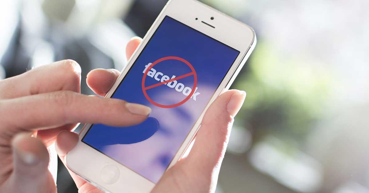 Header FB Konto gesperrt