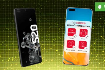 Huawei P40 Pro vs. Galaxy S20 Ultra 5G: Vergleich