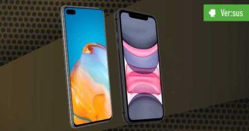 Huawei P40 vs. iPhone 11: Vergleich der zweiten Garde