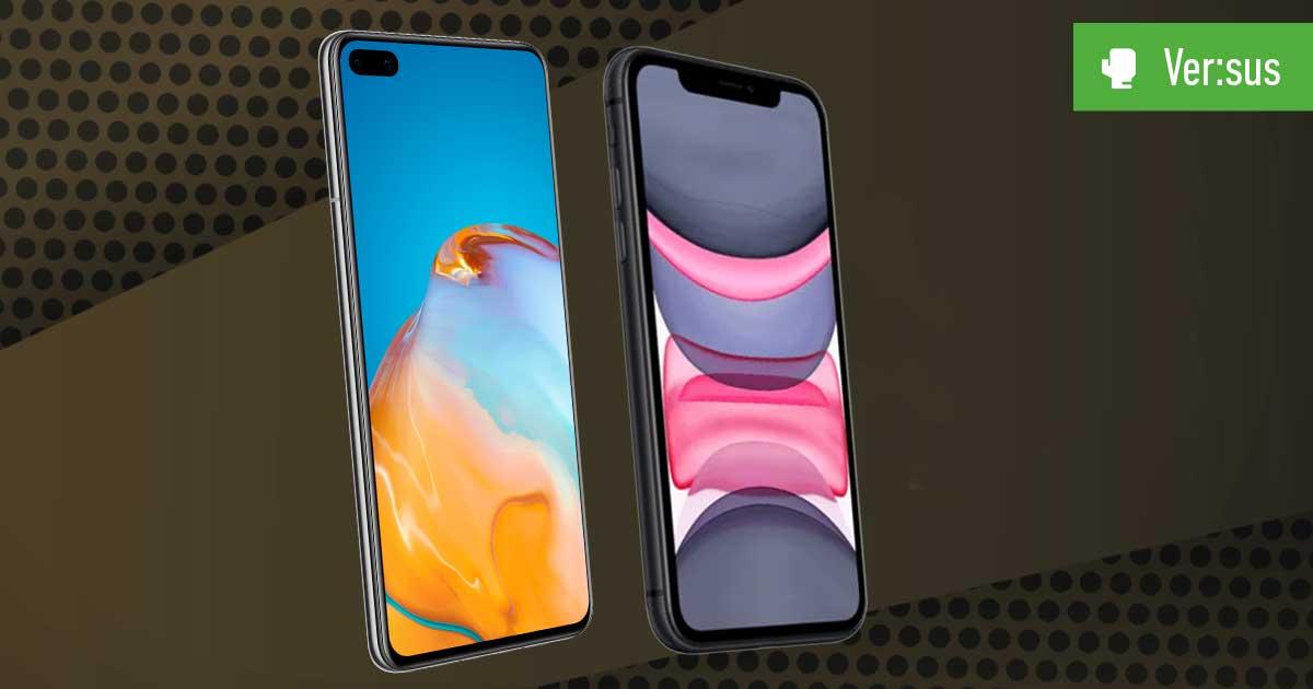Huawei P40 vs. iPhone 11: Vergleich