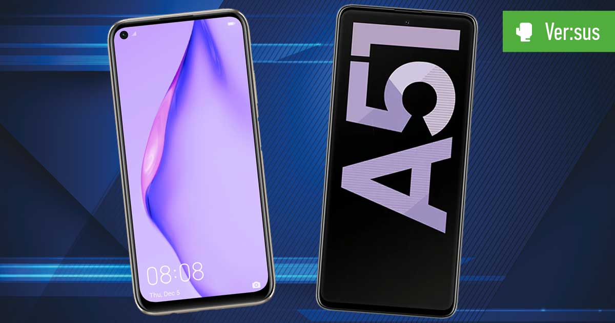 Huawei P40 Lite vs. Galaxy A51