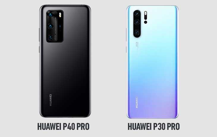 Huawei P40 Pro und Huawei P30 Pro Kameravergleich
