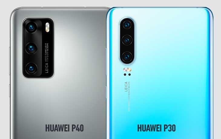 Huawei P40 und Huawei P30 Kameravergleich