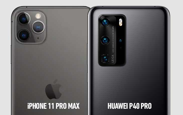 11 Pro Max vs P40 Pro Kamera