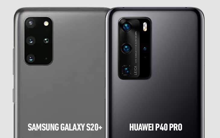 P40 Pro vs S20 Plus Kamera