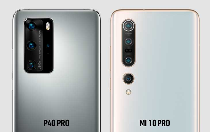 Xiaomi Mi 10 Pro vs. Huawei P40 Pro: Kamera