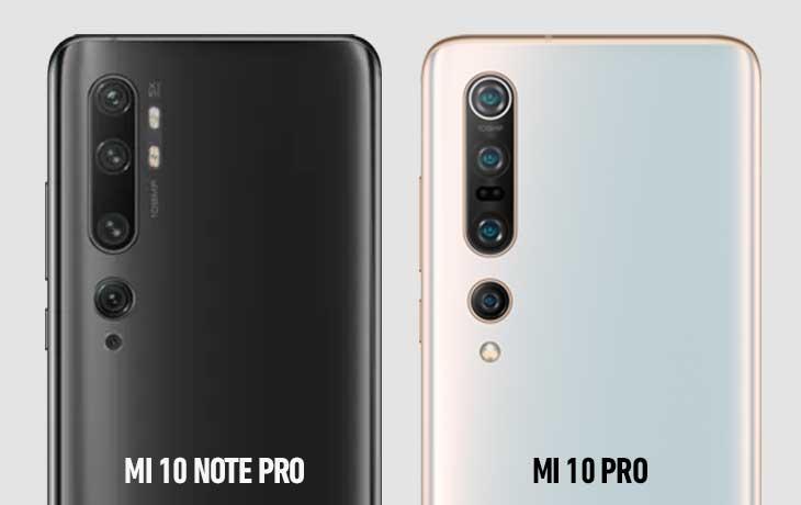 Mi 10 Pro vs Mi Note 10 Pro Kamera
